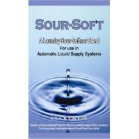 Sour-soft a laundry softener blend
