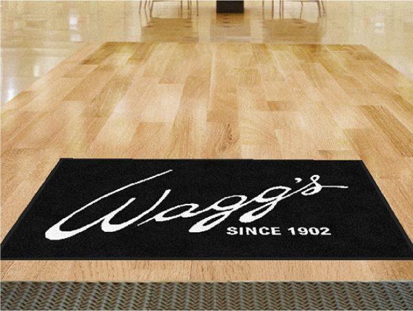 Wagg's custom logo mat
