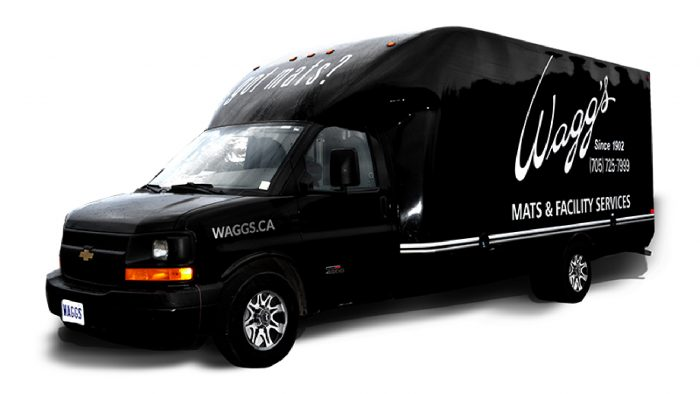 Wagg's service truck
