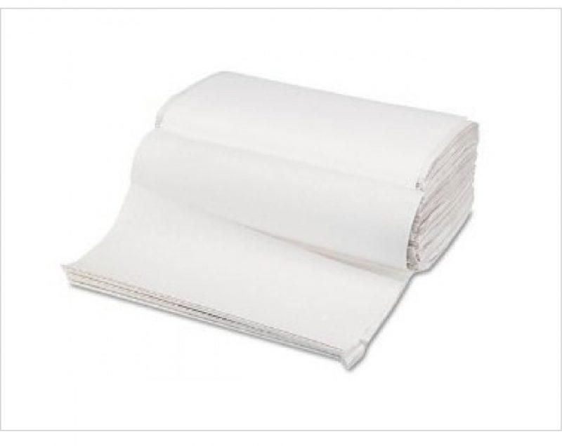 Paper towels folded