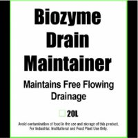 Biozyme drain maintainer, maintains free flowing drainage