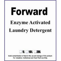 Forward enzyme activated laundry detergent