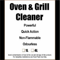 Oven & Grill Cleaner, powerful, quick action, non-flammable, odourless
