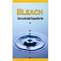 Bleach concentrated hypochlorite